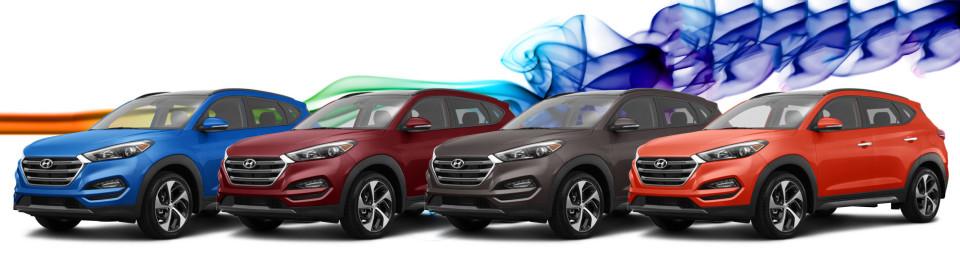 Hyundai tucson colors 2016