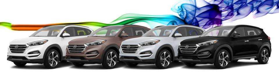 2016 Hyundai Tucson Colors Tuscalosa