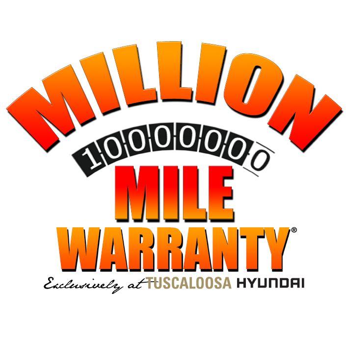 Tuscaloosa Hyundai Million Mile Warranty