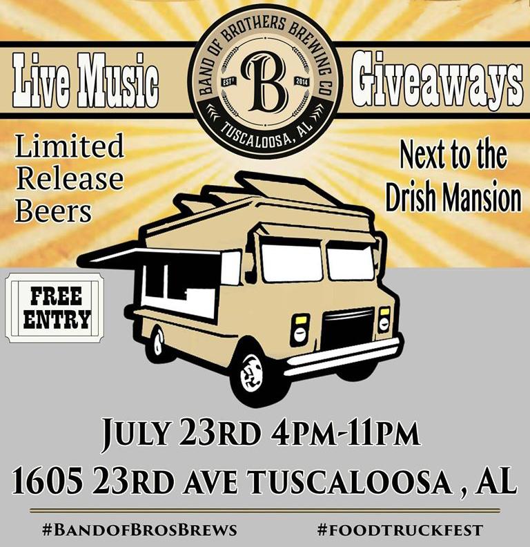 Tuscaloosa Food Truck Rally
