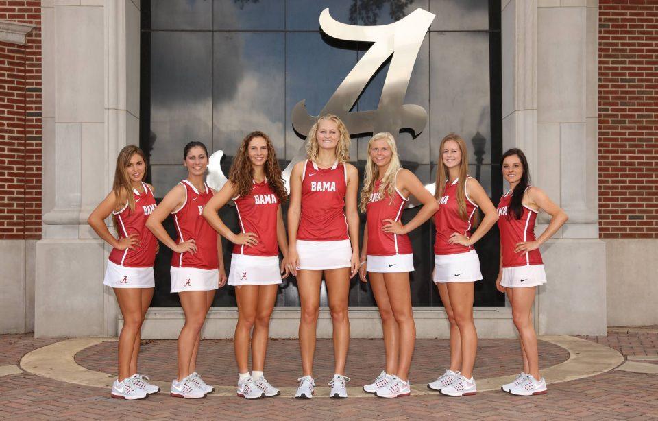 Univeristy of Alabama Womens Tennis Team
