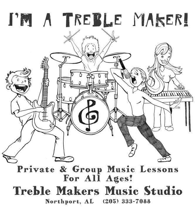 Treble Makers Music Studio Tuscaloosa