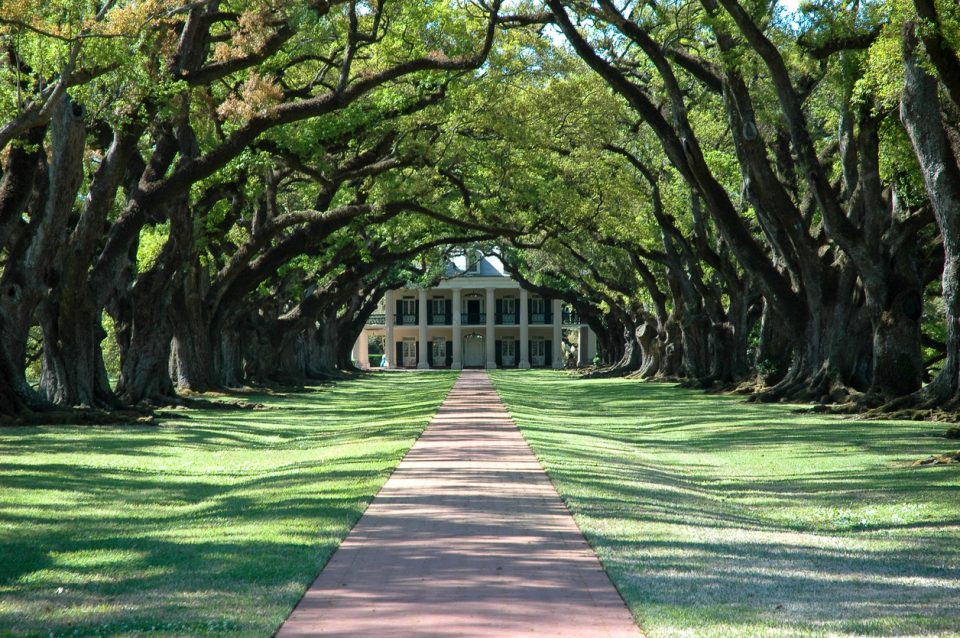 Old Southern Plantation homes